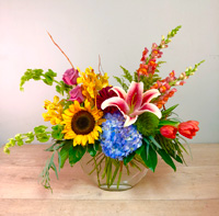 A Gathering of Springtime Floral Arrangement