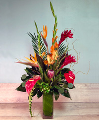 Tropical Tower Bouquet
