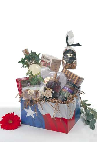 Howdy, Pard'ner! Texas Gift Basket