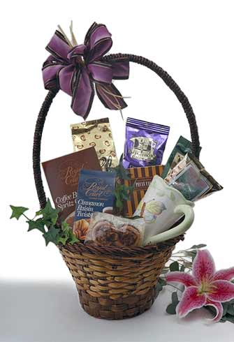 Java Jive Gourmet Coffee Gift Basket