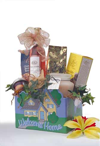 Welcome Home Gift Basket