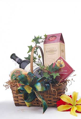 Wine Dining Gift Basket